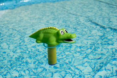 Krokodýl teploměr