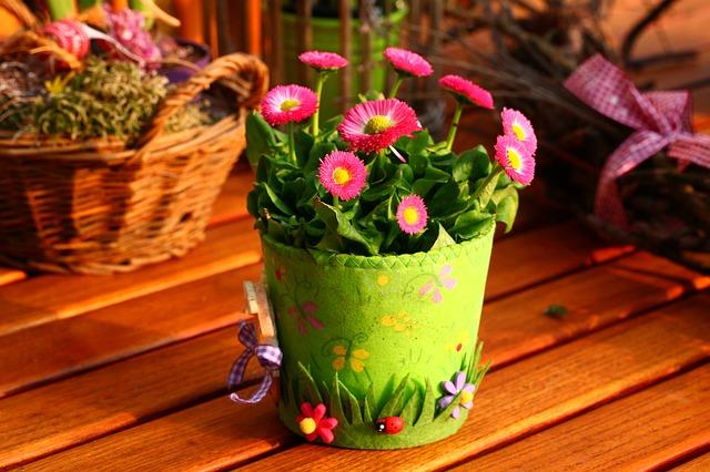 dekorační květináč