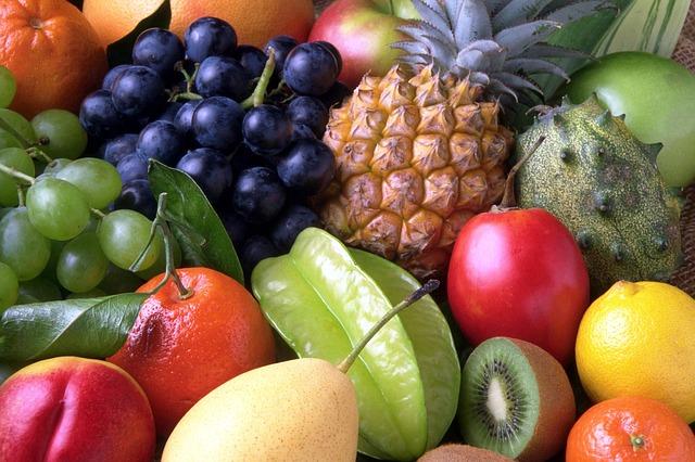 směs ovoce