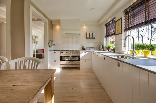 kuchyně bílé