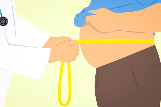 obézní člověk