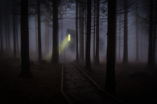 strašidelná chata
